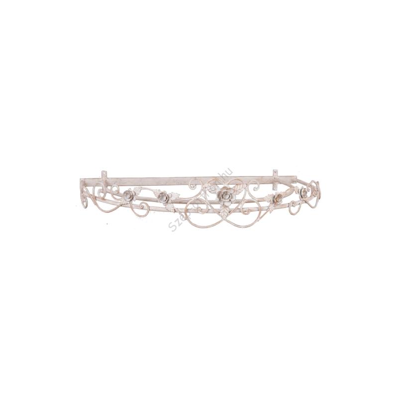 Clayre & Eef 4Y0217DB Baldachin 66x47x12cm,rózsás