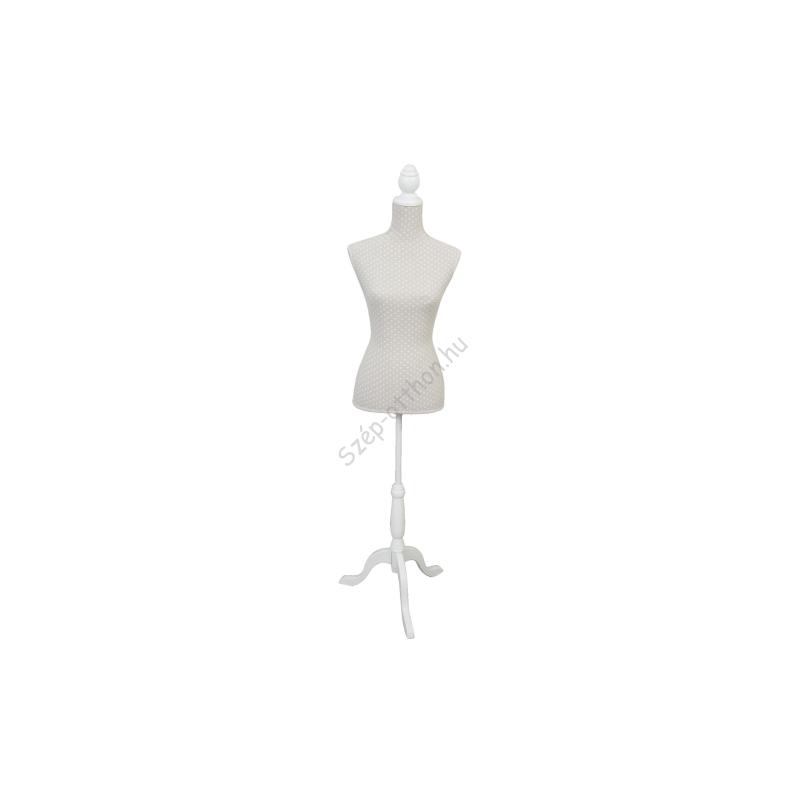 Clayre & Eef BU0002 Próba baba textil bevonatú,37x22x168cm
