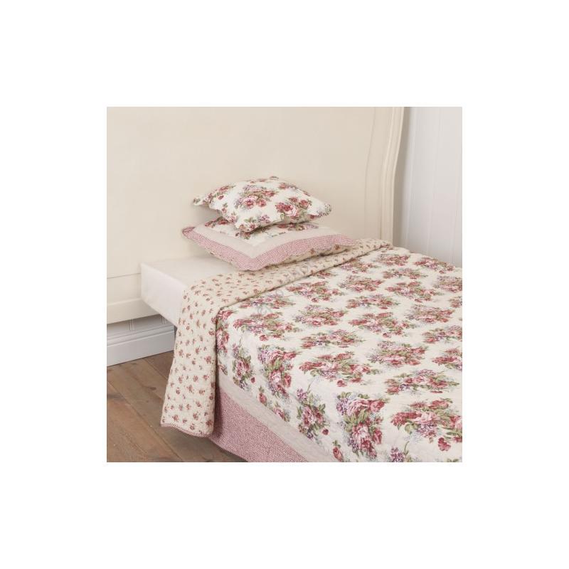 Clayre & Eef Q118.059 Steppelt ágytakaró 140x220cm, rózsás