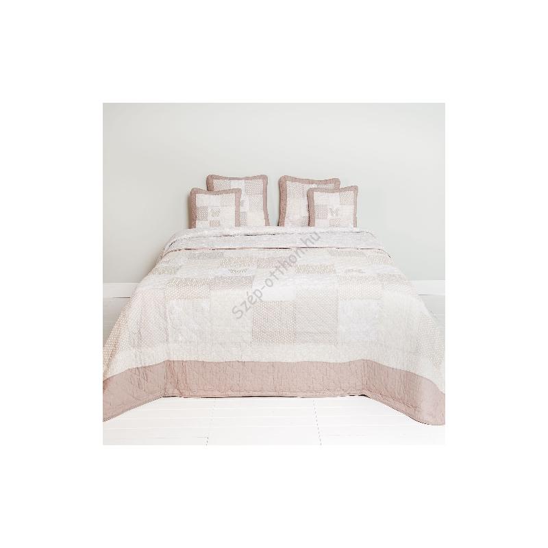 Clayre & Eef Q160.060 Steppelt ágytakaró 180x260cm,pillangós-szives