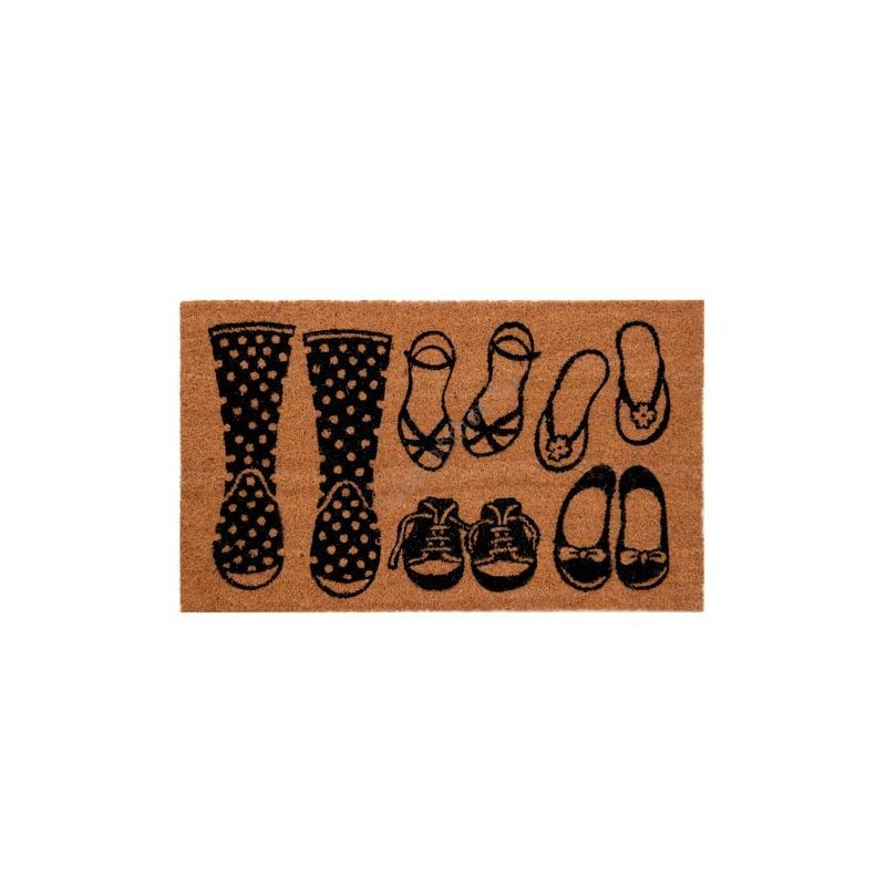 Clayre & Eef MC113 Lábtörlő 75x45cm,cipős