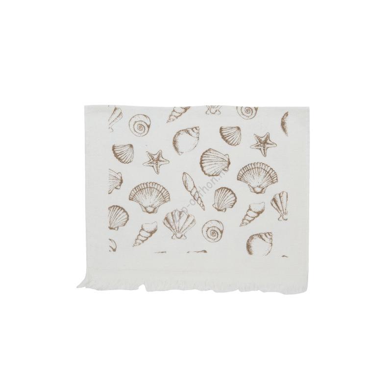 Clayre & Eef CTSESN Konyhai kéztörlő 40x60cm, Sea Shells