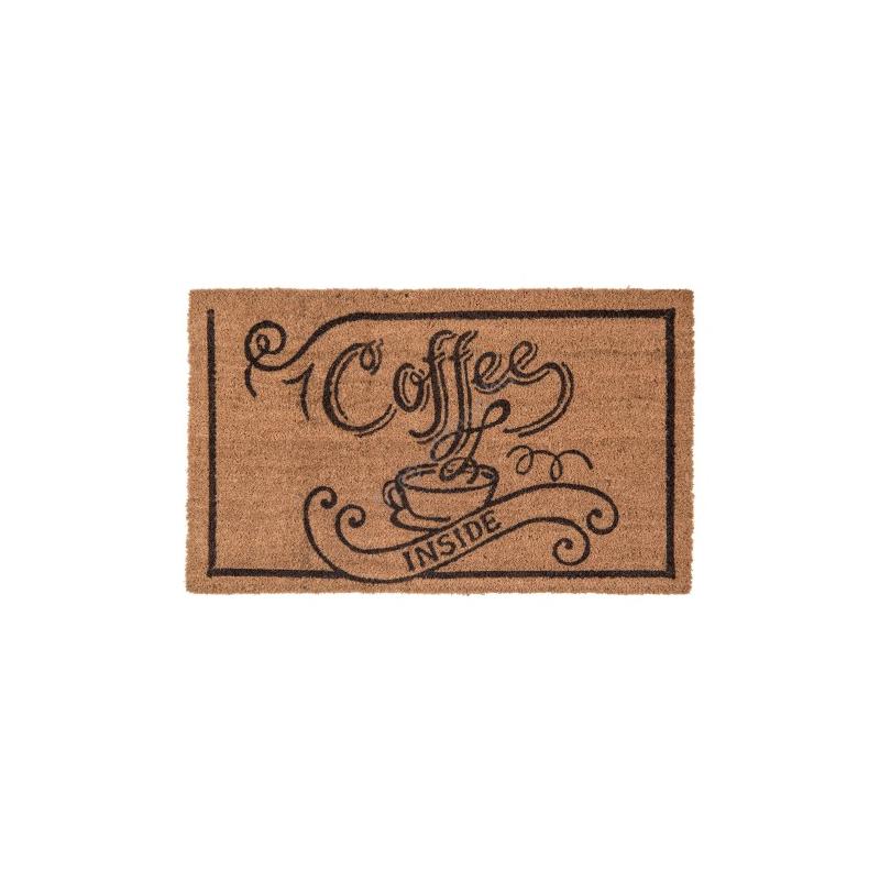 CLEEF.MC130 Lábtörlő 75x45cm, Coffe inside