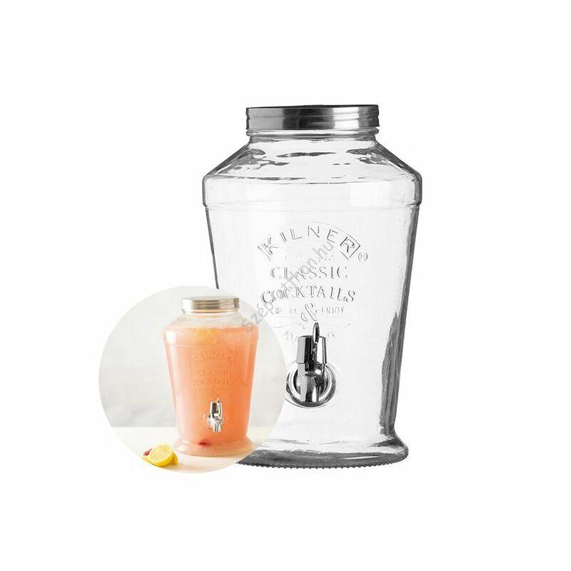 A.D.0025.795 Kilner® limonádé adagoló üveg 6L